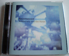"""RADARMAKER - """"ARISTOCRACY and the HORSE"""" CD - 5 TRACKS - 2005 - OZ INDIE - PERTH"""