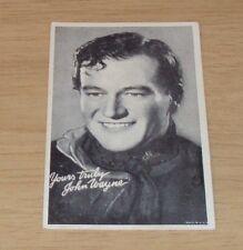 VTG 1930's Unused MOVIE Star Postcard~JOHN WAYNE~Cowboy Actor~