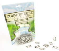 25 - Country Brook Design® 5/8 Inch Heavy Welded Rectangle Rings