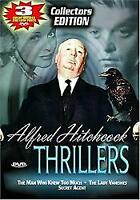 ALFRED HITCHCOCK THRILLERS - THE MAN WHO KNEW TOO MUCHSECRET AGENTTHE DVD