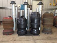 Potbelly Shed Heater 4 Drum UnPainted Wood Truck Brake Drum Garage Entertainment