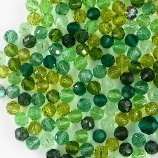 R6 MIX V ** Lot de 50 perles rondes cristal Swarovski réf. 5000 6 mm MIX camaïeu