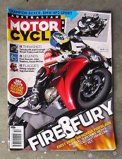 Motorcycle News AMCN Jan 2008 HUSQVARNA 450 ZRX 1200 R6 1098 HP2 CBR 1000 STREET