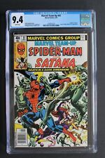MARVEL TEAM-UP 81 DEATH of SATANA TV 1979 Spider-Man Dr Strange Basilisk CGC 9.4