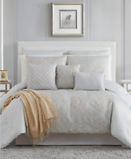 Pem America Sydney 14 Piece Queen Comforter Set Silver / Gold $360