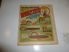 WHIZZER & CHIPS Comic - Date 31/10/1981 - UK Paper Comic