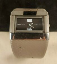 Nike Merge Attract Analog Sport Watch WC0024 Womens 42mm Earth Brown Silver