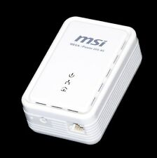 MSI Mega ePower 200 AV Version II Powerline PowerLan Adapter dlan