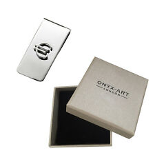 Silver Euro Sign Money Clip In Deluxe Gift Box