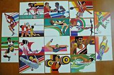 1984 Summer Olympics LOT of 16 US Postal Service POSTCARDS by artist Robert Peak