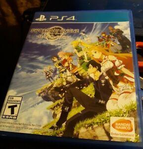 Sword Art Online: Hollow Realization (Playstation 4 , 2014) RARE