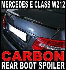 Mercedes E Class W212 saloon Carbon Rear Boot Spoiler