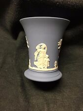 "Wedgwood Jasperware - Blue Vase - 4"" height in Mint Condition"