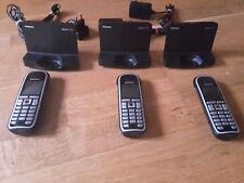 3 (!!!) Siemens Gigaset C470 Mobiltelefone schwarz, gebraucht, guter Zustand
