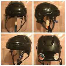Bauer IMS 9.0 Ice Hockey Helmet Black Size Small With Visor Half Shield