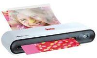 Plastifieuse A4 Comfort Geha + 6 pochettes de plastification A4, A5, A7