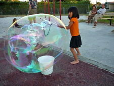 Big Mighty Bubble Blower Wand,Bubble Stick-Blow Huge Giant Soap Bubbles