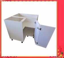Flat Pack Kitchen High Gloss White Kitchen Base Corner Cabinet 900 X 900