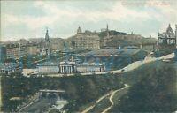 Edinburgh From Castle 1903 Postmark Valentine series 521