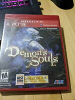 Demon's Souls (Sony PlayStation 3, 2009) Sealed