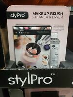 StylPro Makeup Brush Cleaner and Drier With Cleanser Liquid 5 fl oz.SAM DAY SHIP