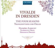 VIVALDI IN DRESDEN: THE FOUR SEASONS - TRANSCRIPTIONS FOR ORGAN NEW CD
