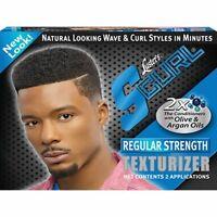 S-Curl Regular Strength Texturizer Kit 2 Application