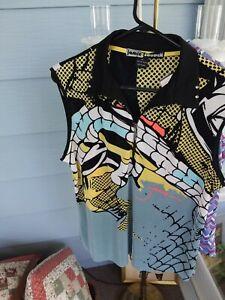Jamie Sadock Krinkle Sleeveless Golf Shirt.XL