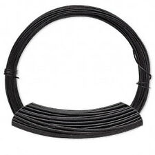 50 Feet Black Color Coated Aluminum Wire 20 Gauge