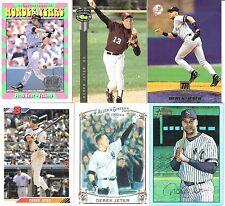 6 Diff. Derek Jeter cards- New York Yankees