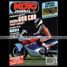 MOTO JOURNAL N°879 HONDA CBR 600 KAWASAKI KLR 650 B TENGAÏ NORTON RCW 588 1989