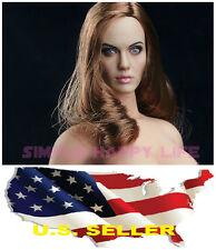 1/6 Angelina Jolie Mrs. Smith Head Sculpt for Hot Toys Phicen KUMIK ❶❶USA❶❶