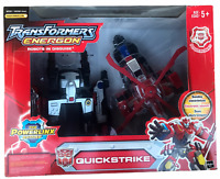 Transformers Energon Powerlinx Quickstrike Action Figure New w Wear,Tear,Creases