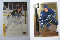 1997-98 Black Diamond PC27 Johnson Mike triple diamond premium cut  leafs