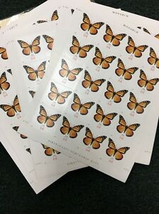 Scott # 4462, MONARCH BUTTERFLY, 64 cent postage stamps, MNH. 1 Sheet Of 20