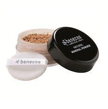 Benecos Natural Polvo Mineral Dorado Avellana 10g Ultra Fina Polvo Suelto-Vegano
