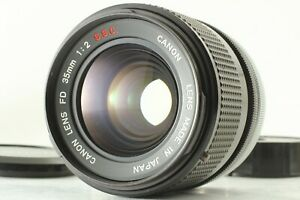 【NEAR MINT++】 Canon FD 35mm F/2 S.S.C SSC MF Wide Angle Lens From JAPAN #1170