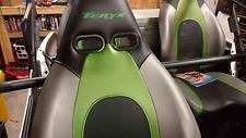 2 SEAT SET Harness Insert Seat Passthrough Bezel RZR UTV Race TERYX TERYX4