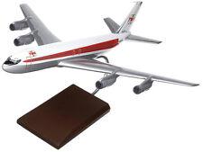 TWA Trans World Airlines Boeing 707-320 Desk Display Jet Model 1/100 MC Airplane
