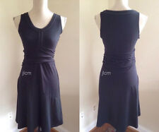 NWT $79 Athleta KATNISS Sun Dress M MEDIUM Black White Stitching