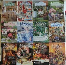 Lot of 12 VICTORIA MAGAZINE COMPLETE NINTH VOLUME 1995 Vol. 9 No. 1-12