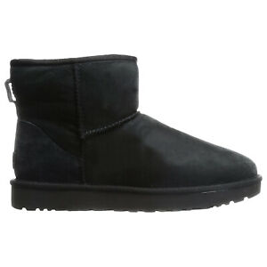 Ugg Australia Womens Boots Classic Mini II Casual Pull-On Ankle Suede