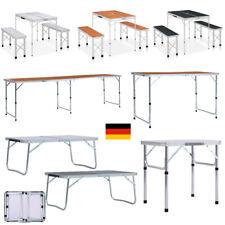 Alu Klapptisch Campingtisch klappbarer Gartentisch Falttisch Partytisch & Hocker
