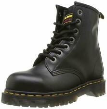 Dr Martens icono 7B10 Negro Puntera De Acero 7 Arandelas pesado deber botas de trabajo de seguridad