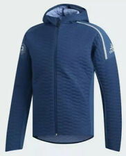 $150 Adidas 2019 Boston Marathon ZNE Winter Run Men's SMALL Hooded Jacket DX8762