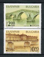 Bulgaria 2018 MNH Bridges Europa Bridge 2v Set Architecture Stamps