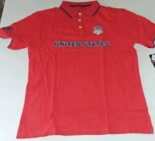 Formula 1 United States Grand Prix COTA Mens Crest Ribbed Polo NWT Large 2222