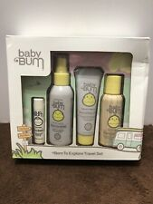 Baby Bum Born To Explore Travel Set Plant Based Skin Care