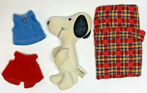 Peanuts Snoopy Soft House Knickerbocker Replacement Doll Plush Vintage 1980
