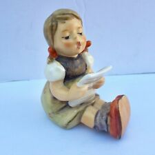 New ListingVintage Hummel Goebel Singing Girl 389 Sheet Music Porcelain Figurines Germany